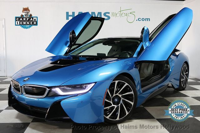 2015 Bmw I8 Coupe For Sale Hollywood Fl 64 977 Motorcar Com