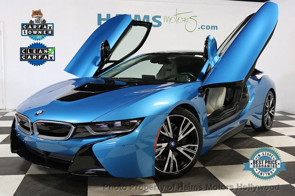 2015 Used Bmw I8 Giga World At Haims Motors Serving Fort Lauderdale