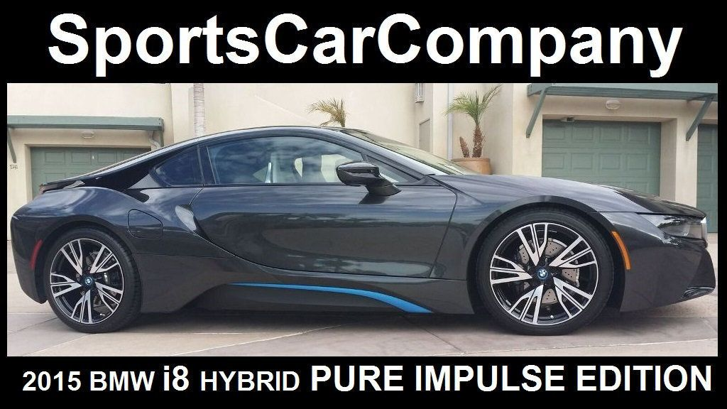 2015 BMW i8 PURE IMPULSE i8 PURE IMPULSE WORLD EDITION - 17048581 - 2