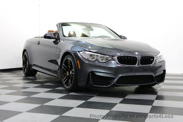 2015 BMW M4 CERTIFIED M4 CABRIO 6 SPEED Carbon Ceramic Brakes - 17906798 - 1