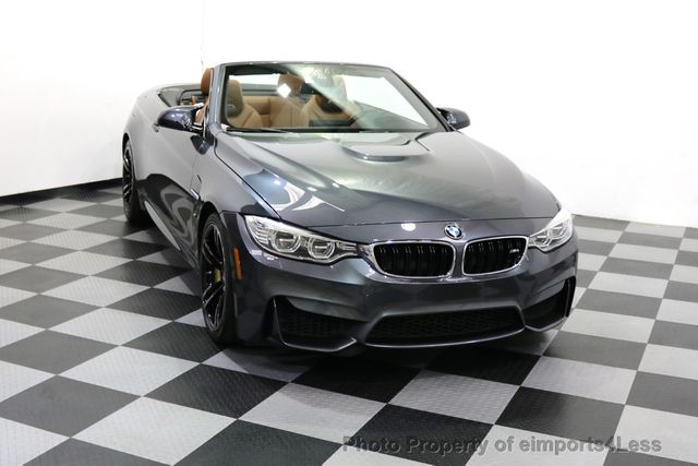 2015 BMW M4 CERTIFIED M4 CABRIO 6 SPEED Carbon Ceramic Brakes - 17906798 - 31