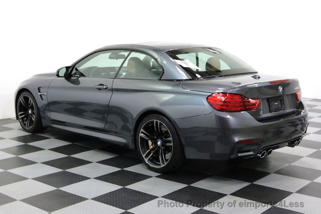 2015 BMW M4 CERTIFIED M4 CABRIO 6 SPEED Carbon Ceramic Brakes - 17906798 - 32