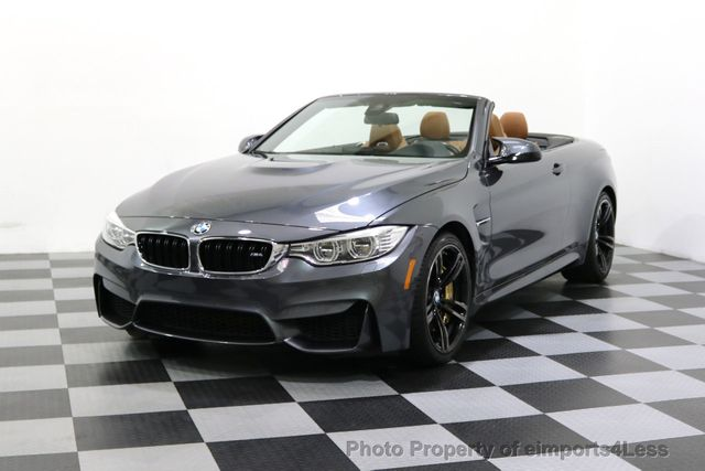 2015 BMW M4 CERTIFIED M4 CABRIO 6 SPEED Carbon Ceramic Brakes - 17906798 - 56