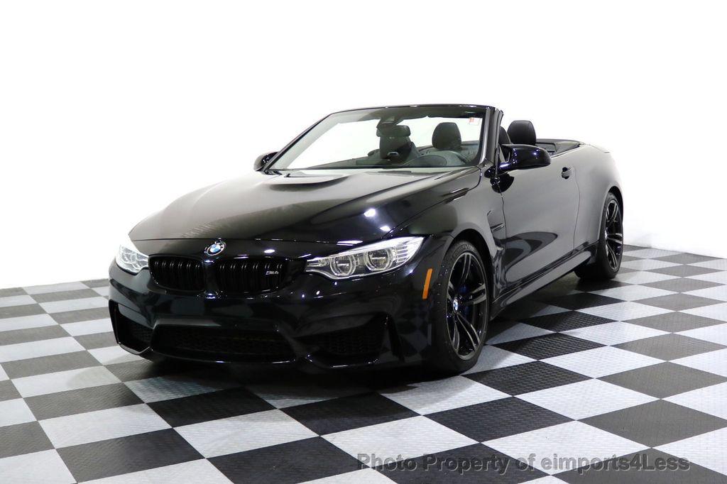 2015 BMW M4 CERTIFIED M4 CABRIOLET Blind Spot EXEC NAV - 17363813 - 0