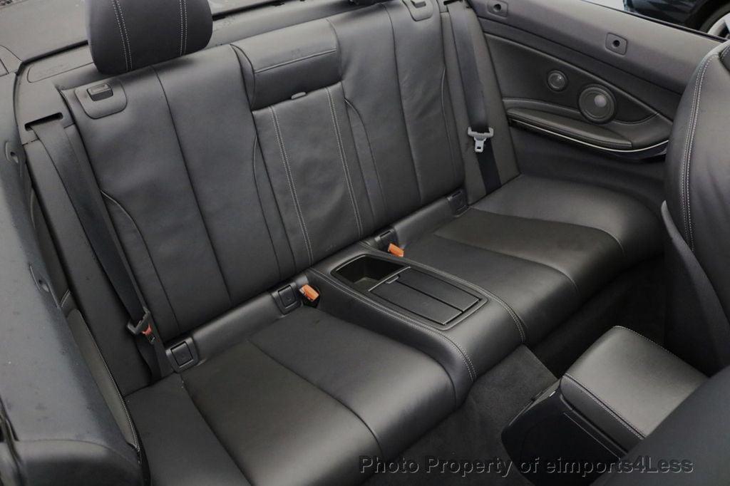 2015 BMW M4 CERTIFIED M4 CABRIOLET Blind Spot EXEC NAV - 17363813 - 10
