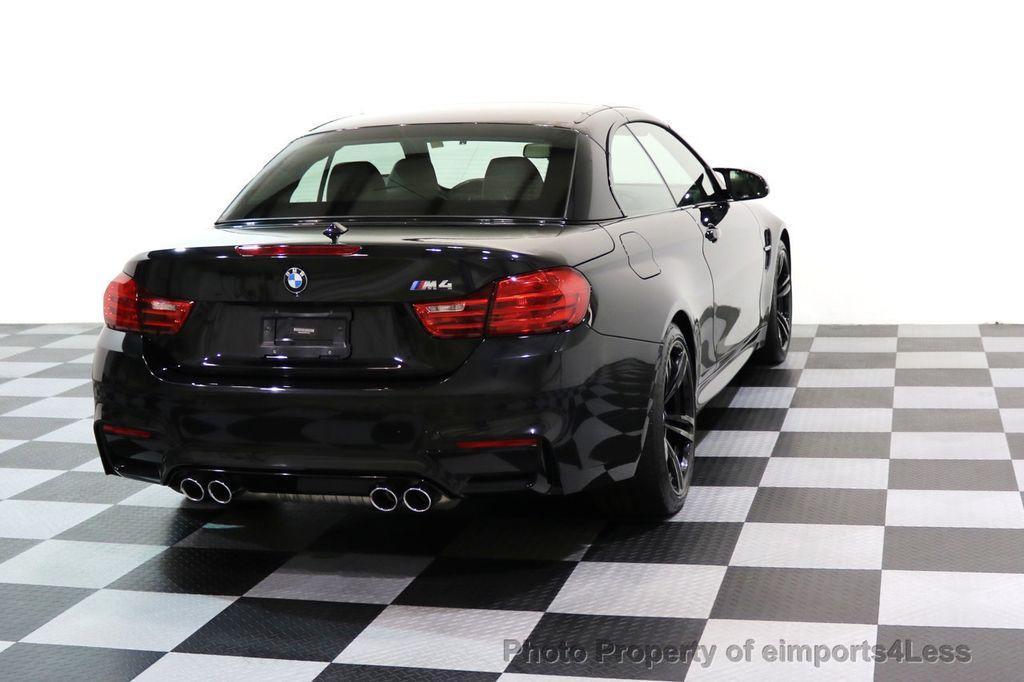 2015 BMW M4 CERTIFIED M4 CABRIOLET Blind Spot EXEC NAV - 17363813 - 18