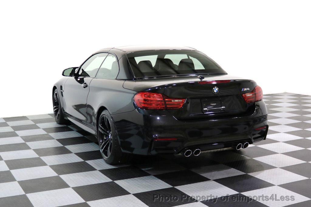 2015 BMW M4 CERTIFIED M4 CABRIOLET Blind Spot EXEC NAV - 17363813 - 2