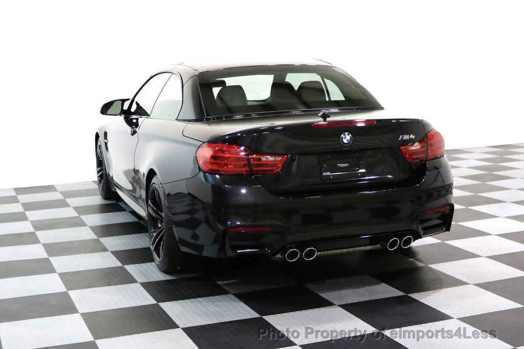 2015 BMW M4 CERTIFIED M4 CABRIOLET Blind Spot EXEC NAV - 17363813 - 29