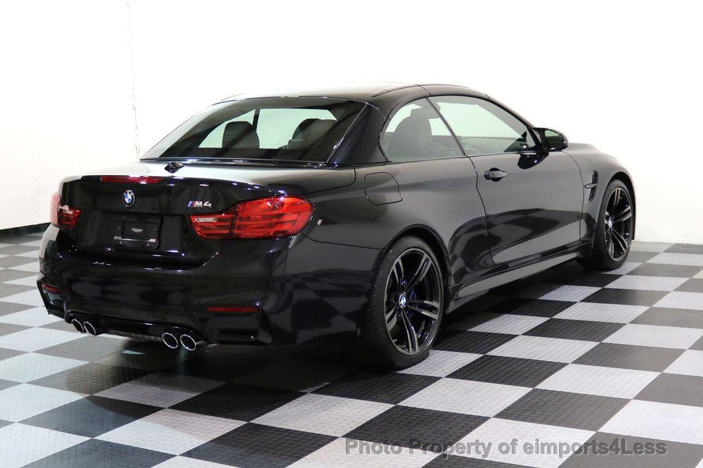 2015 BMW M4 CERTIFIED M4 CABRIOLET Blind Spot EXEC NAV - 17363813 - 31