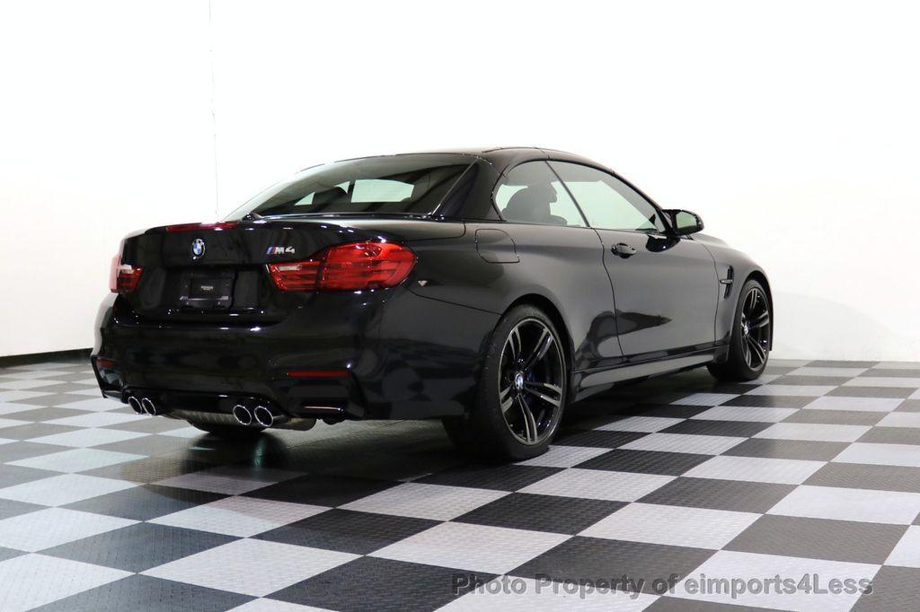 2015 BMW M4 CERTIFIED M4 CABRIOLET Blind Spot EXEC NAV - 17363813 - 42