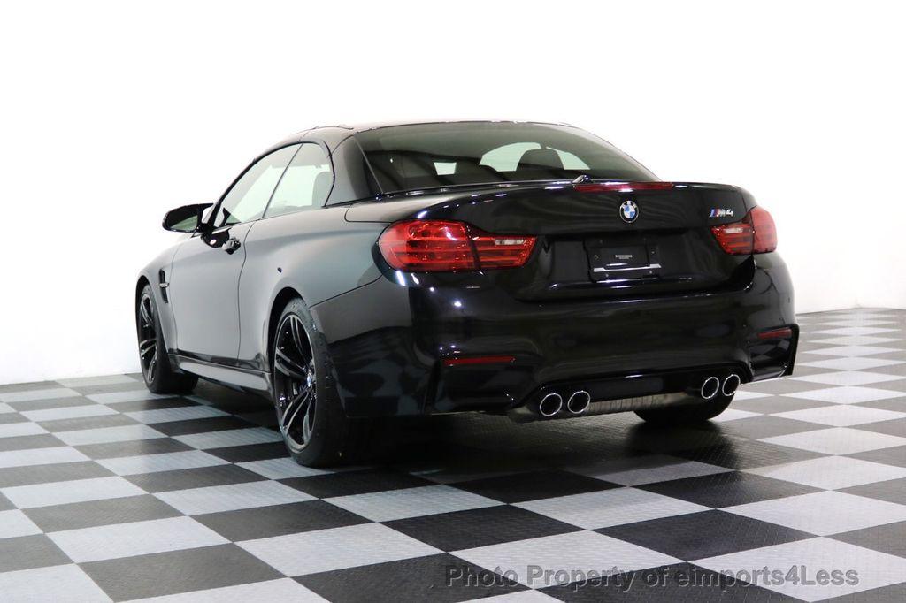 2015 BMW M4 CERTIFIED M4 CABRIOLET Blind Spot EXEC NAV - 17363813 - 48
