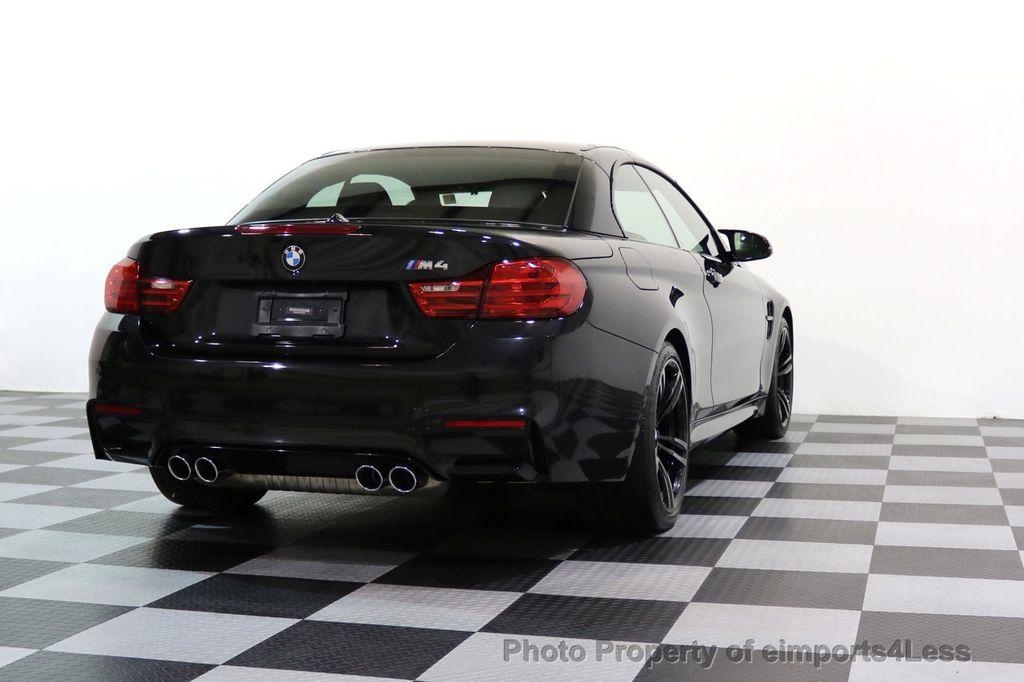 2015 BMW M4 CERTIFIED M4 CABRIOLET Blind Spot EXEC NAV - 17363813 - 49
