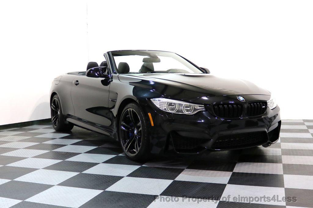 2015 BMW M4 CERTIFIED M4 CABRIOLET Blind Spot EXEC NAV - 17363813 - 50