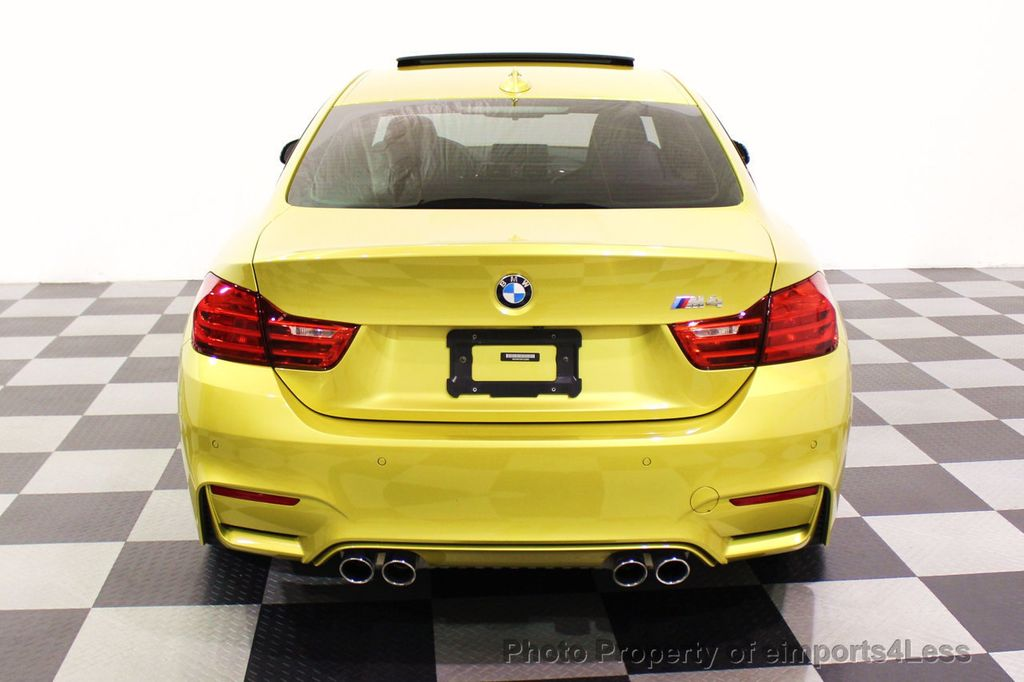 2015 BMW M4 CERTIFIED M4 Coupe Executive HUD BLIS HK CAM NAVI - 18279095 - 26