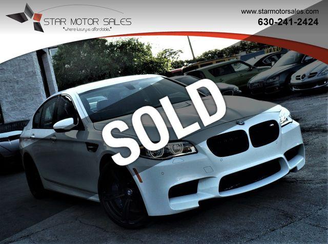 2015 Used BMW M5 4dr Sedan at Star Motor Sales Serving Downers Grove