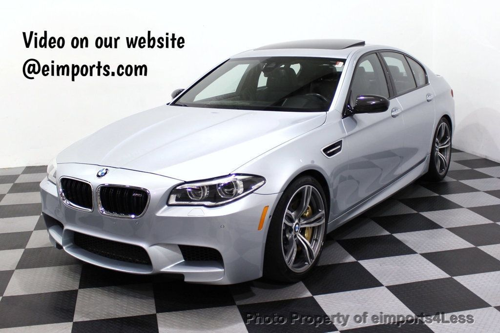 2015 BMW M5 CERTIFIED M5 V8 COMPETITION PACKAGE EXEC CERAMIC BRAKES - 18279081 - 0