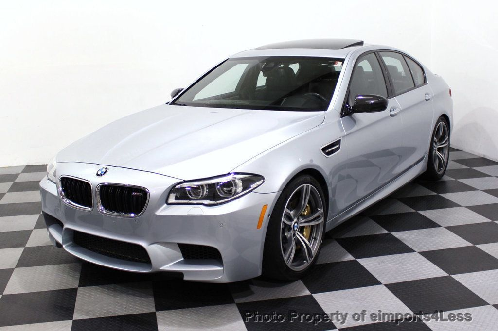 2015 BMW M5 CERTIFIED M5 V8 COMPETITION PACKAGE EXEC CERAMIC BRAKES - 18279081 - 52