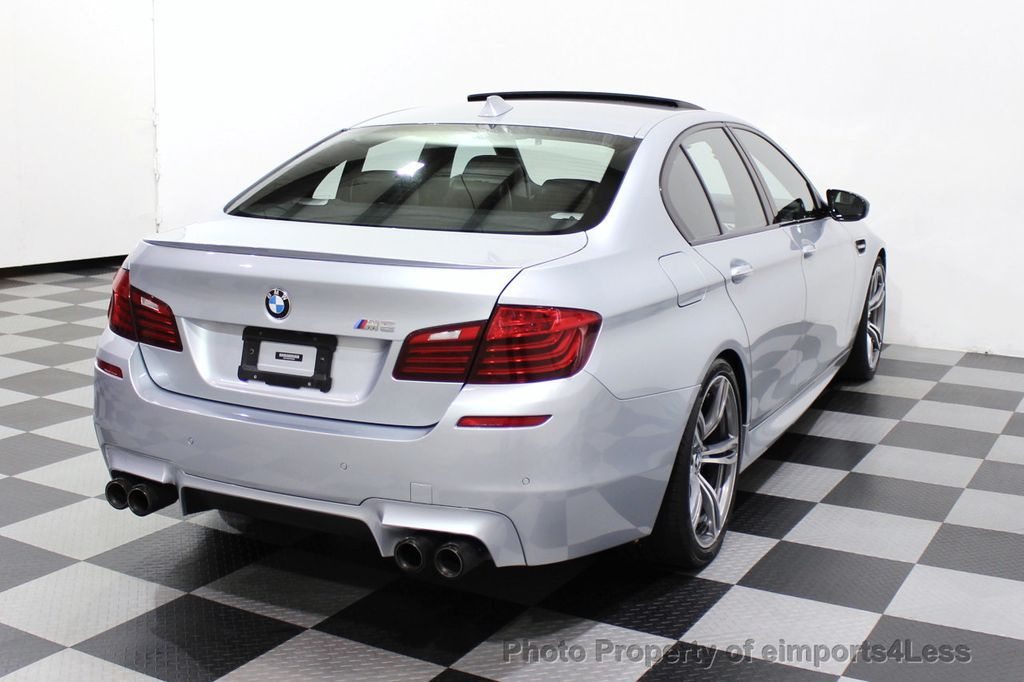 2015 BMW M5 CERTIFIED M5 V8 COMPETITION PACKAGE EXEC CERAMIC BRAKES - 18279081 - 55