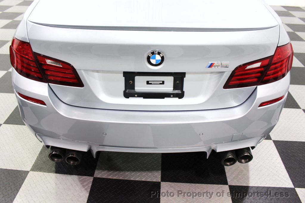 2015 BMW M5 CERTIFIED M5 V8 COMPETITION PACKAGE EXEC CERAMIC BRAKES - 18279081 - 57