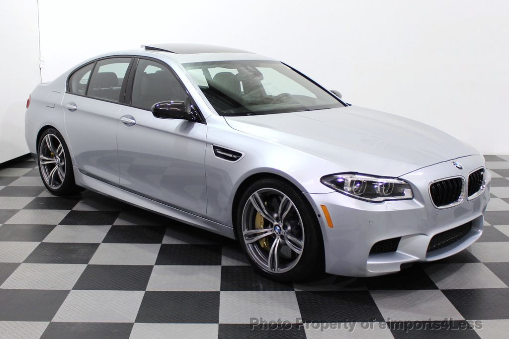 2015 BMW M5 CERTIFIED M5 V8 COMPETITION PACKAGE EXEC CERAMIC BRAKES - 18279081 - 65