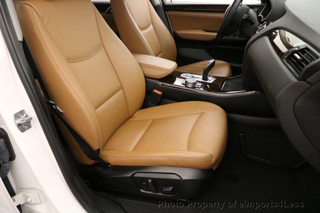 2015 BMW X3 CERTIFIED X3 xDRIVE28i AWD CAMERA NAVIGATION - 17425244 - 23