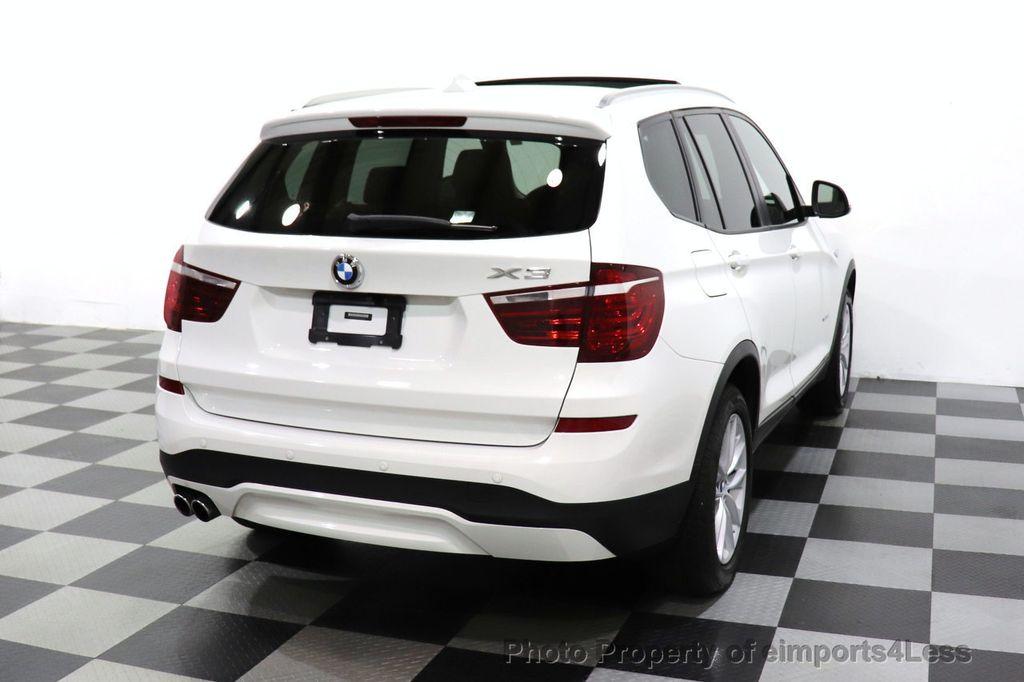 2015 BMW X3 CERTIFIED X3 xDRIVE28i AWD CAMERA NAVIGATION - 17425244 - 32