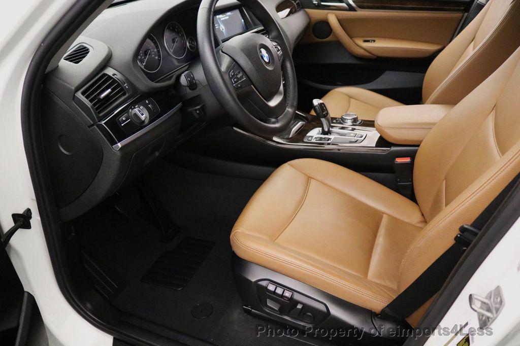 2015 BMW X3 CERTIFIED X3 xDRIVE28i AWD CAMERA NAVIGATION - 17425244 - 33
