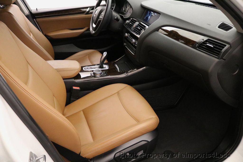 2015 BMW X3 CERTIFIED X3 xDRIVE28i AWD CAMERA NAVIGATION - 17425244 - 34
