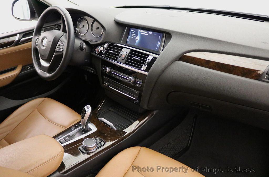 2015 BMW X3 CERTIFIED X3 xDRIVE28i AWD CAMERA NAVIGATION - 17425244 - 36