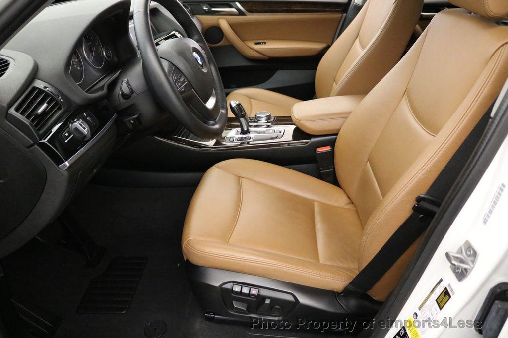 2015 BMW X3 CERTIFIED X3 xDRIVE28i AWD CAMERA NAVIGATION - 17425244 - 37