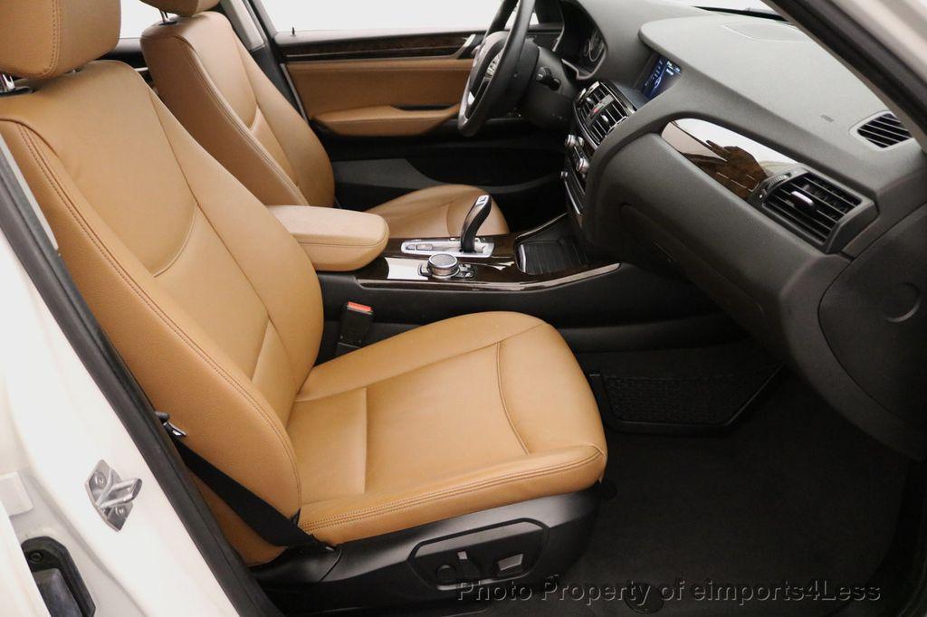 2015 BMW X3 CERTIFIED X3 xDRIVE28i AWD CAMERA NAVIGATION - 17425244 - 38