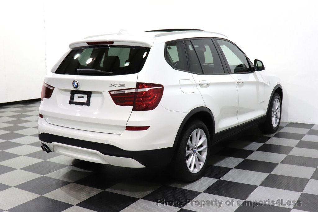 2015 BMW X3 CERTIFIED X3 xDRIVE28i AWD CAMERA NAVIGATION - 17425244 - 3