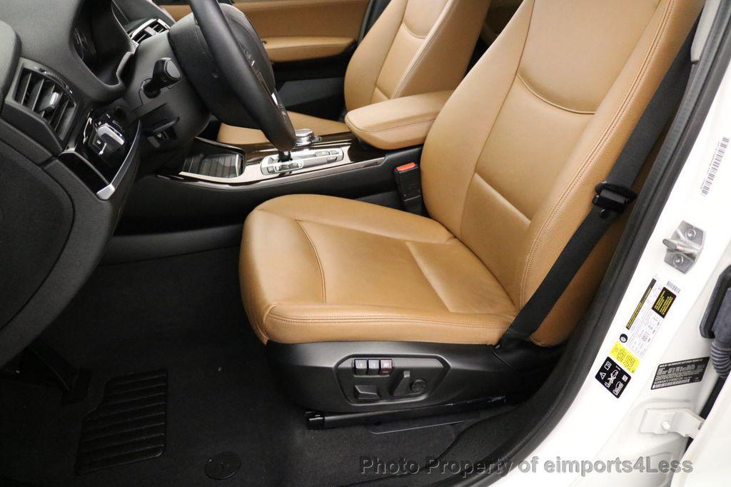 2015 BMW X3 CERTIFIED X3 xDRIVE28i AWD CAMERA NAVIGATION - 17425244 - 39