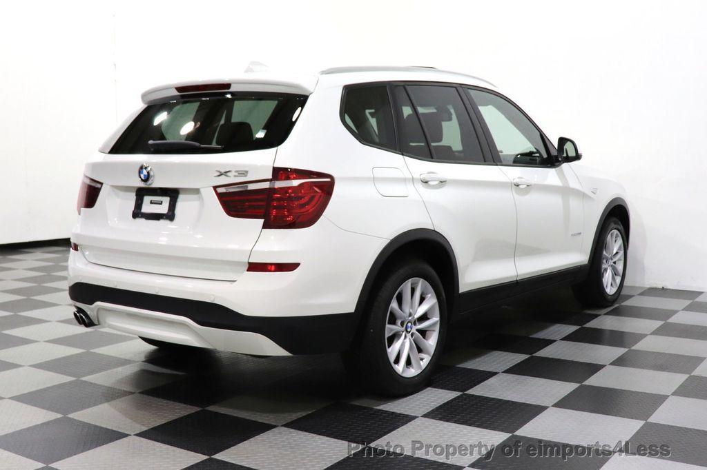 2015 BMW X3 CERTIFIED X3 xDRIVE28i AWD CAMERA NAVIGATION - 17425244 - 48