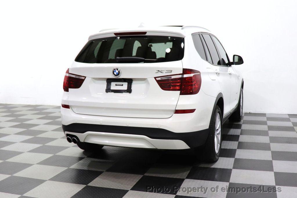 2015 BMW X3 CERTIFIED X3 xDRIVE28i AWD CAMERA NAVIGATION - 17425244 - 51