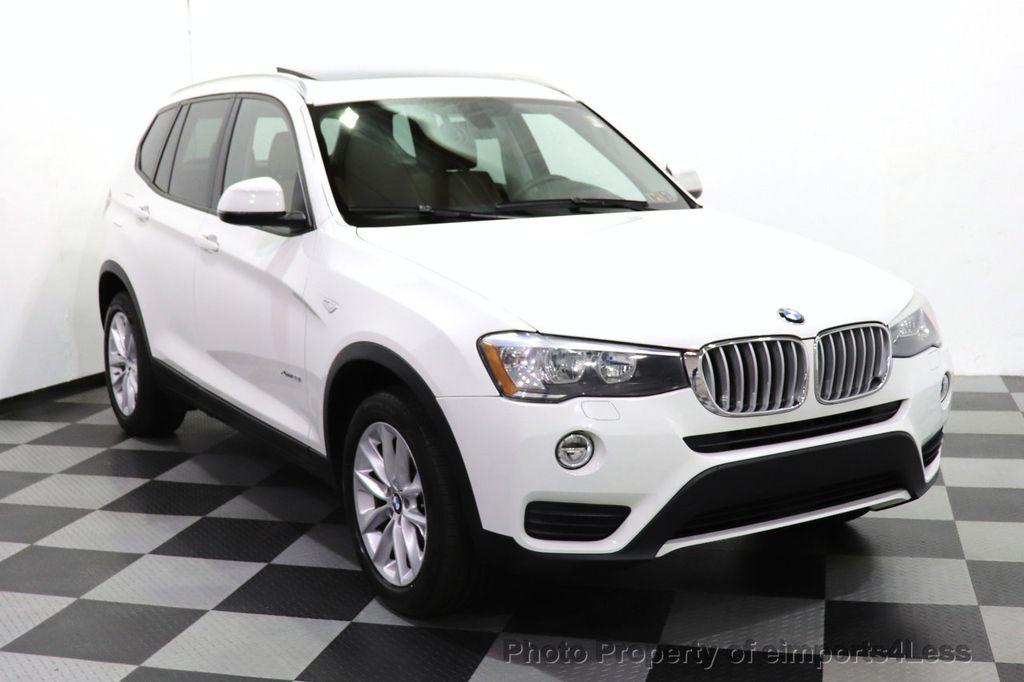2015 BMW X3 CERTIFIED X3 xDRIVE28i AWD CAMERA NAVIGATION - 17425244 - 52