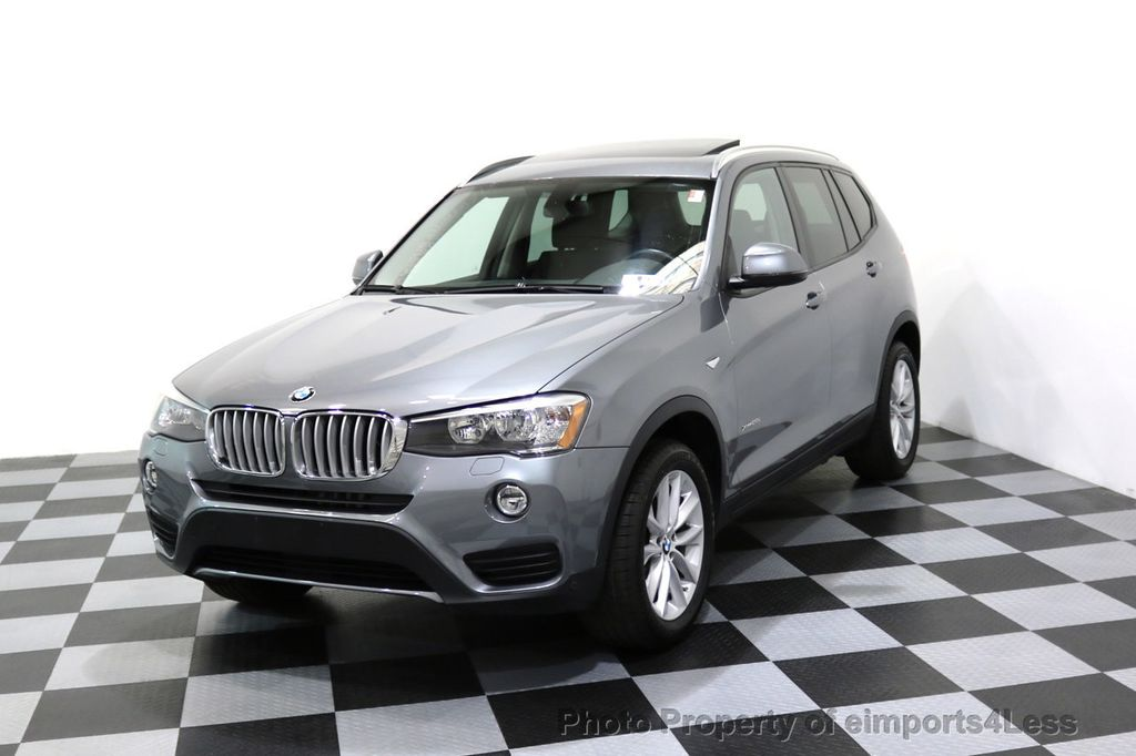 2015 BMW X3 CERTIFIED X3 xDRIVE28i AWD PANO CAMERA NAVI - 17308032 - 0