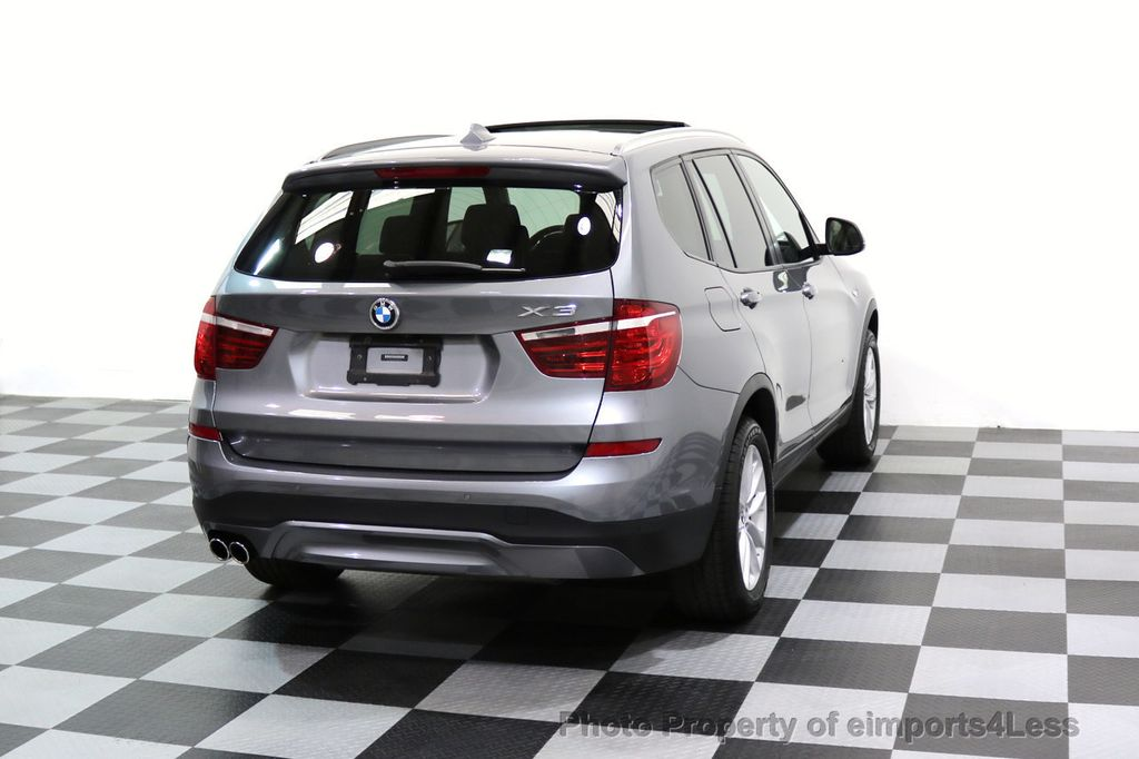 2015 BMW X3 CERTIFIED X3 xDRIVE28i AWD PANO CAMERA NAVI - 17308032 - 18