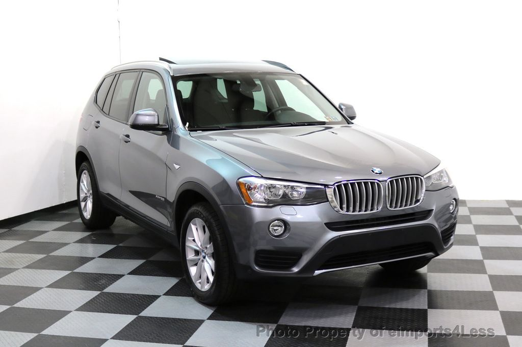 2015 BMW X3 CERTIFIED X3 xDRIVE28i AWD PANO CAMERA NAVI - 17308032 - 1