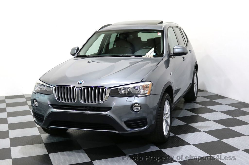 2015 BMW X3 CERTIFIED X3 xDRIVE28i AWD PANO CAMERA NAVI - 17308032 - 27