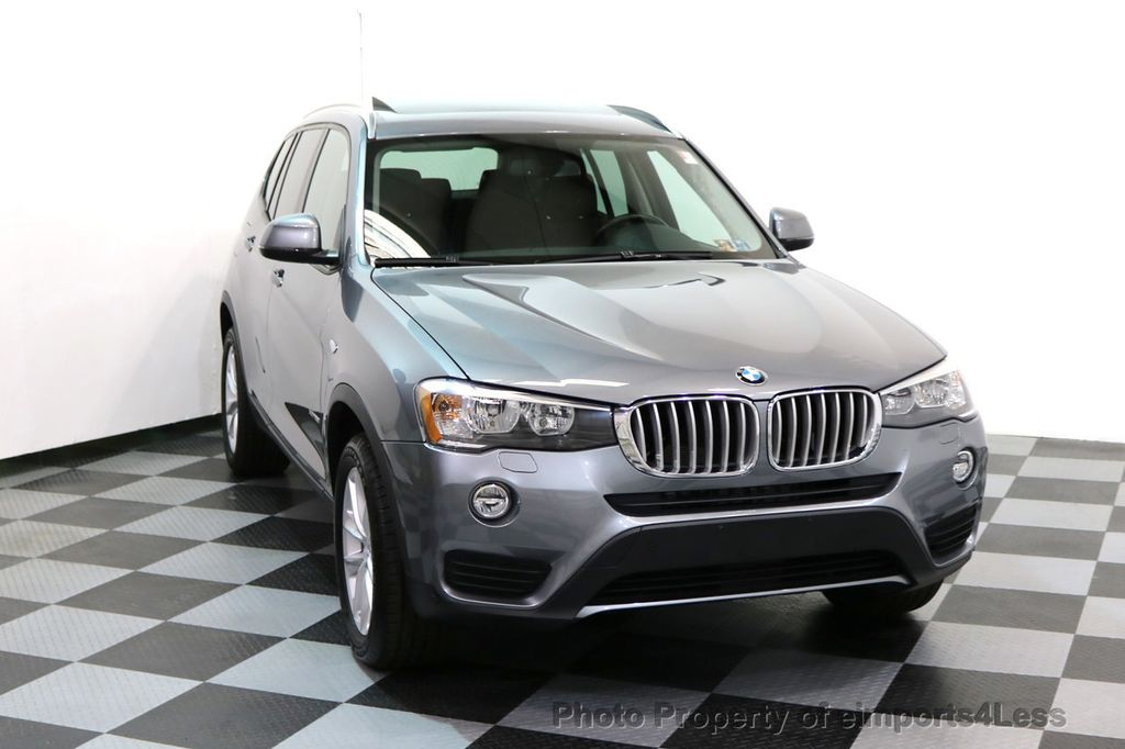 2015 BMW X3 CERTIFIED X3 xDRIVE28i AWD PANO CAMERA NAVI - 17308032 - 28