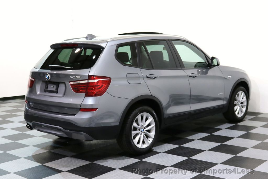 2015 BMW X3 CERTIFIED X3 xDRIVE28i AWD PANO CAMERA NAVI - 17308032 - 31