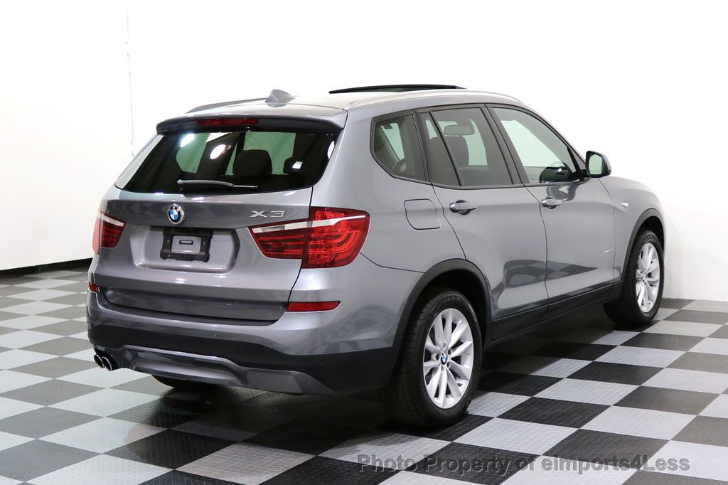 2015 BMW X3 CERTIFIED X3 xDRIVE28i AWD PANO CAMERA NAVI - 17308032 - 3