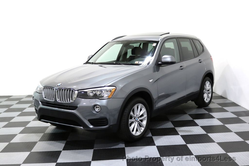 2015 BMW X3 CERTIFIED X3 xDRIVE28i AWD PANO CAMERA NAVI - 17308032 - 42