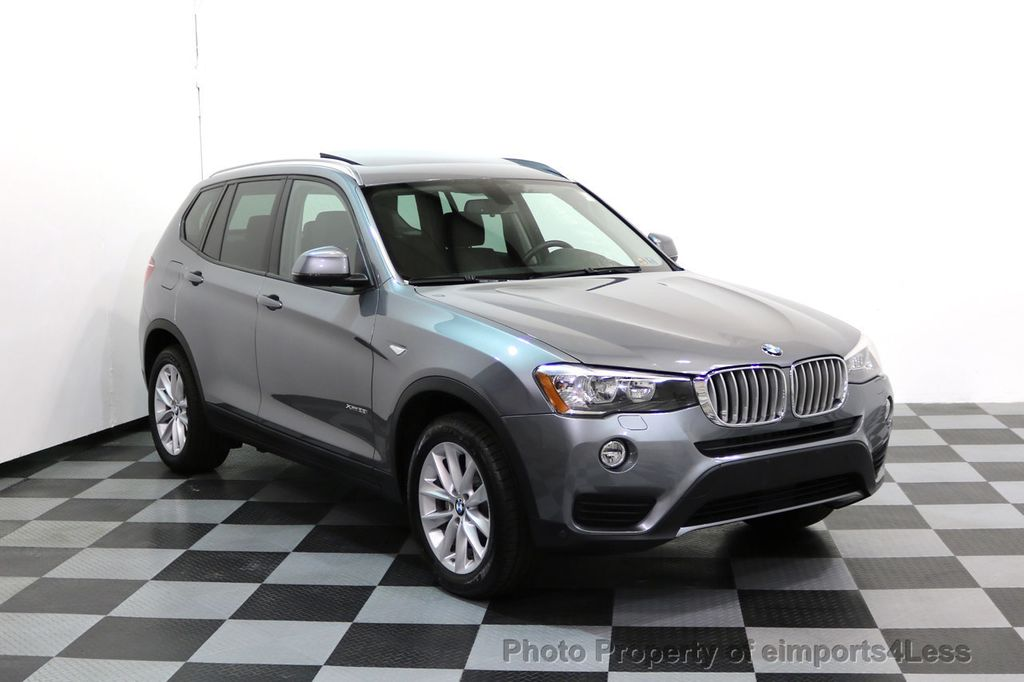 2015 BMW X3 CERTIFIED X3 xDRIVE28i AWD PANO CAMERA NAVI - 17308032 - 43