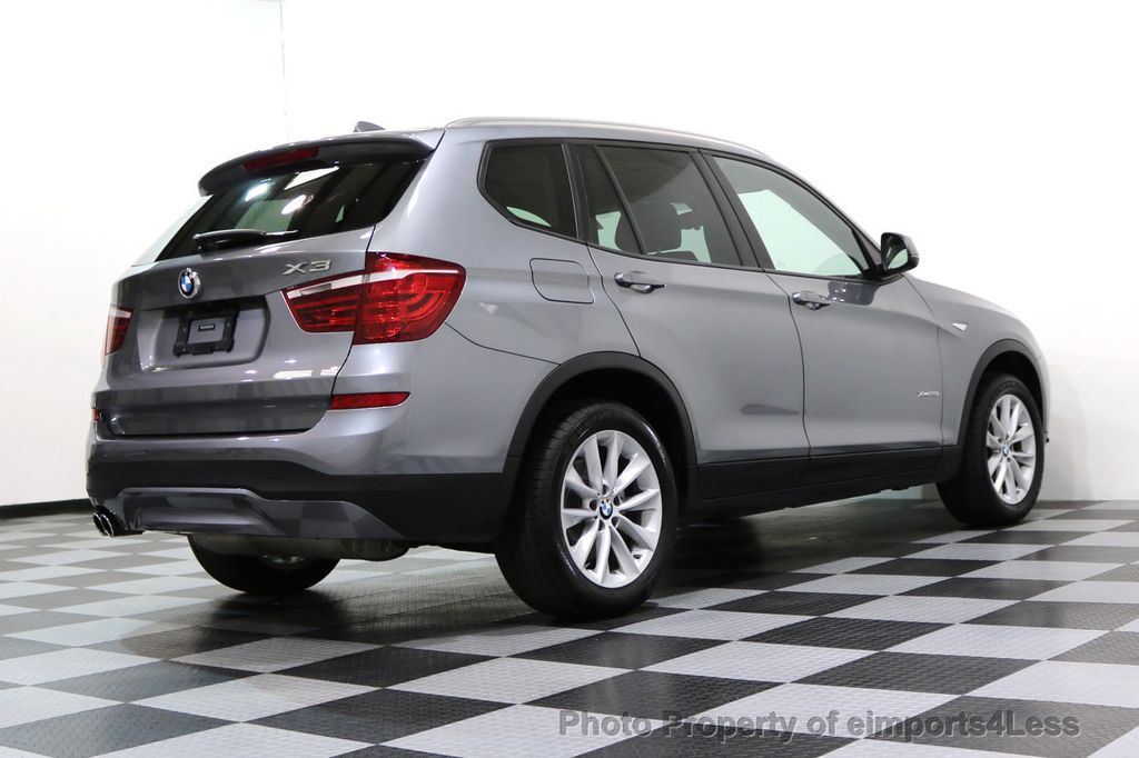 2015 BMW X3 CERTIFIED X3 xDRIVE28i AWD PANO CAMERA NAVI - 17308032 - 45