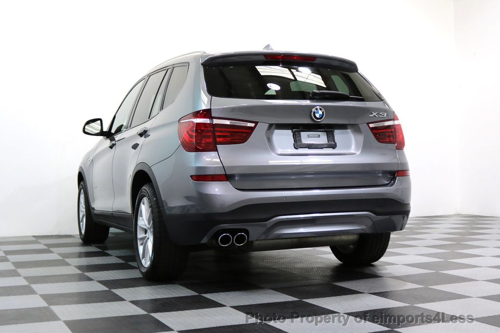 2015 BMW X3 CERTIFIED X3 xDRIVE28i AWD PANO CAMERA NAVI - 17308032 - 52