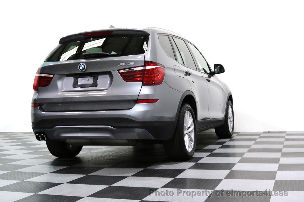 2015 BMW X3 CERTIFIED X3 xDRIVE28i AWD PANO CAMERA NAVI - 17308032 - 53