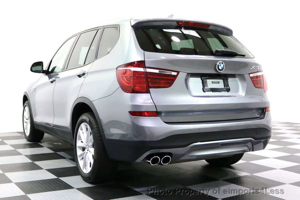 2015 BMW X3 CERTIFIED X3 xDRIVE28i AWD XENONS CAMERA NAVI - 17696949 - 16