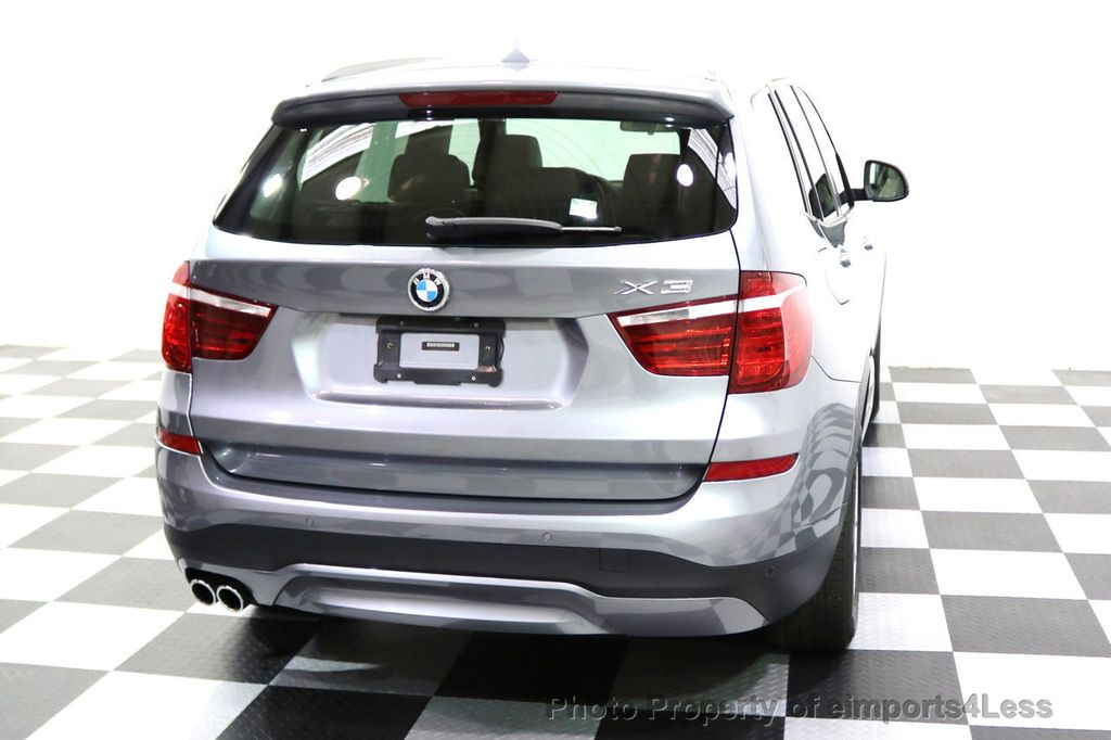 2015 BMW X3 CERTIFIED X3 xDRIVE28i AWD XENONS CAMERA NAVI - 17696949 - 18